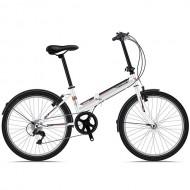 "Bicicleta pliabila SPRINT Traffic 24"" alb/negru/rosu"