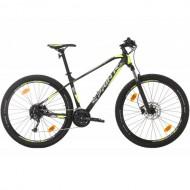 """Bicicleta SPRINT Apolon 27.5"""" negru/gri/verde 44 cm"""
