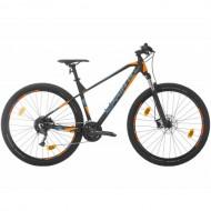"""Bicicleta SPRINT Apolon 29"""" negru/portocaliu/albastru 48 cm"""
