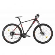 "Bicicleta SPRINT Maverick Pro 27.5"" negru/gri-mat 44 cm"