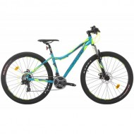 """Bicicleta SPRINT Hunter MDB 27.5"""" turcoaz 40 cm"""
