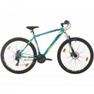 "Bicicleta SPRINT Active DD 29"" turcoaz/verde 44 cm"