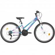 """Bicicleta SPRINT Calypso 24"""" turquoise 2021"""