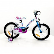"Bicicleta SPRINT Alice 18"" 1SP alb"