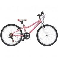 "Bicicleta MOON Adria 24"" roz/alb"