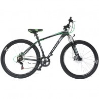 "Bicicleta MOON Sprinter 29"" graphite/verde 44 cm"