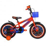 """Bicicleta ULTRA Kidy 16"""" portocaliu/albastru/negru"""