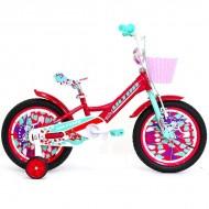 """Bicicleta ULTRA Kidy 16"""" rosu/vernil"""