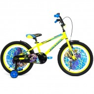 "Bicicleta ULTRA Kidy 20"" galben/albastru/negru"