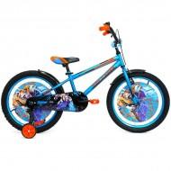 """Bicicleta ULTRA Kidy 20"""" albastru/portocaliu/negru"""