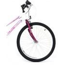 """Bicicleta ULTRA Gravita 24"""" alb/mov"""