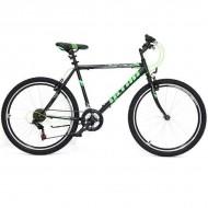 "Bicicleta ULTRA Storm 26"" negru/verde 44 cm"