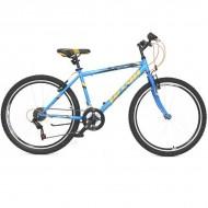 "Bicicleta ULTRA Storm 26"" albastru/orange 44 cm"