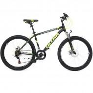 "Bicicleta ULTRA Razor 26"" negru/galben neon/verde neon 44 cm"