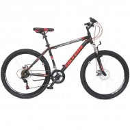 "Bicicleta ULTRA Razor 26"" negru/rosu neon/portocaliu neon 44 cm"