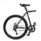 "Bicicleta ULTRA Agressor 26"" negru/portocaliu neon/albastru 48 cm"