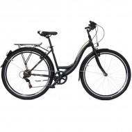"Bicicleta ULTRA Regata CTB 28"" negru/bej/alb 46 cm"