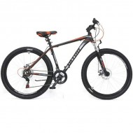 "Bicicleta ULTRA Nitro 27.5"" negru/gri/portocaliu 44 cm"