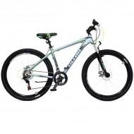 "Bicicleta ULTRA Nitro 27.5"" gri/negru/verde 44 cm"