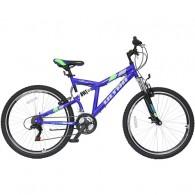 "Bicicleta ULTRA Apex 26"" albastru/verde 47cm"