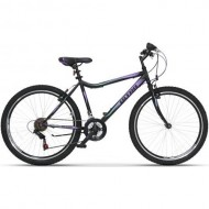 "Bicicleta ULTRA Gravita 26"" negru/mov 42 cm"