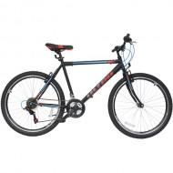 "Bicicleta ULTRA Storm 26"" negru/albastru/portocaliu 48 cm"