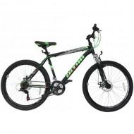 "Bicicleta ULTRA Razor 26"" negru/verde 48 cm"