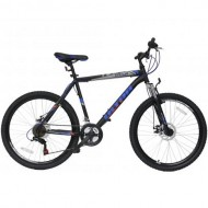 "Bicicleta ULTRA Razor 26"" negru/albastru 52 cm"