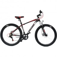"Bicicleta ULTRA Nitro 27.5"" negru/portocaliu 44 cm"