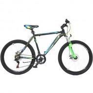 "Bicicleta ULTRA Agressor 26"" negru/verde 48 cm"