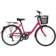 """Bicicleta ULTRA Riviera CTB 26"""" rosu 42 cm"""