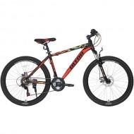 """Bicicleta ULTRA Agressor 26"""" negru/rosu 44 cm"""