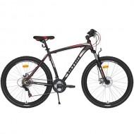 "Bicicleta ULTRA Nitro 27.5"" negru/alb/rosu 48 cm"
