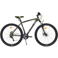 "Bicicleta ULTRA Nitro 29"" negru/gri/galben 44 cm"