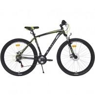 "Bicicleta ULTRA Nitro 29"" negru/gri/galben 48 cm"