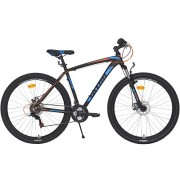 "Bicicleta ULTRA Nitro RF 29"" negru/albastru/portocaliu 48 cm"