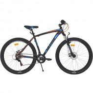 "Bicicleta ULTRA Nitro RF 29"" negru/albastru/portocaliu 44 cm"