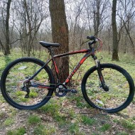 """Bicicleta ULTRA Nitro 29"""" negru/rosu/albastru 48 cm"""