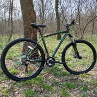 "Bicicleta ULTRA Nitro RF 29"" negru/verde 48 cm"