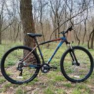 "Bicicleta ULTRA Nitro RF Hidraulic 29"" negru/albastru/portocaliu 44 cm"
