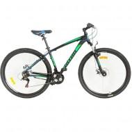 "Bicicleta ULTRA Nitro 29"" negru/albastru/verde 44 cm"