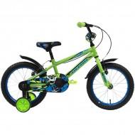 """Bicicleta ULTRA Kidy C-Brake 16"""" verde/albastru"""