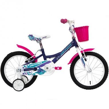 "Bicicleta ULTRA Larisa C-Brake 16"" mov/roz/alb"
