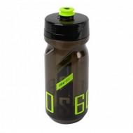 Bidon hidratare POLISPORT S600 600 ml - negru transparent/verde lime
