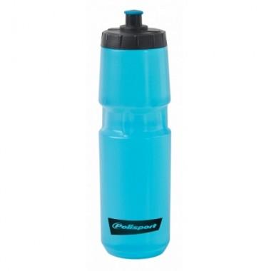 Bidon hidratare POLISPORT Colours 800 ml - albastru transparent
