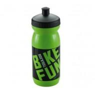 Bidon hidratare BIKEFUN verde/negru 600 ml