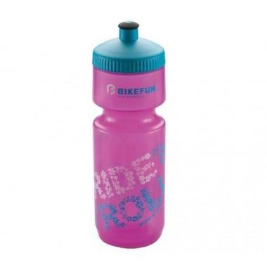 Bidon hidratare BIKEFUN roz 750 ml