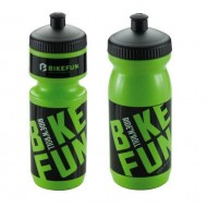 Bidon hidratare BIKEFUN verde/negru