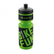 Bidon hidratare BIKEFUN verde/negru 750 ml
