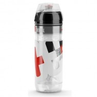 Bidon hidratare ELITE Iceberg Thermal 500 ml alb/negru/roşu